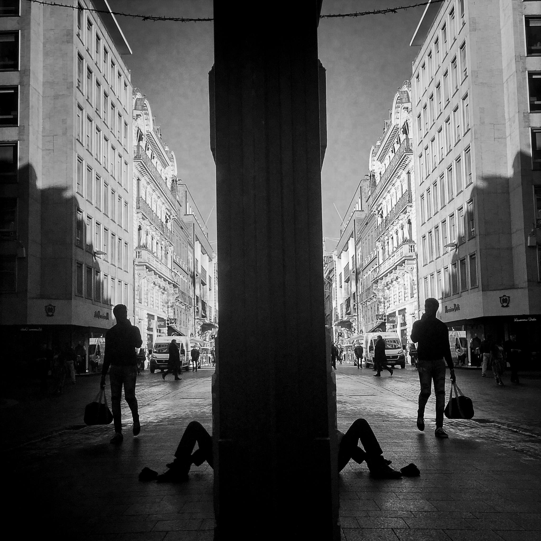 Série d'images réalisées à Toulouse.