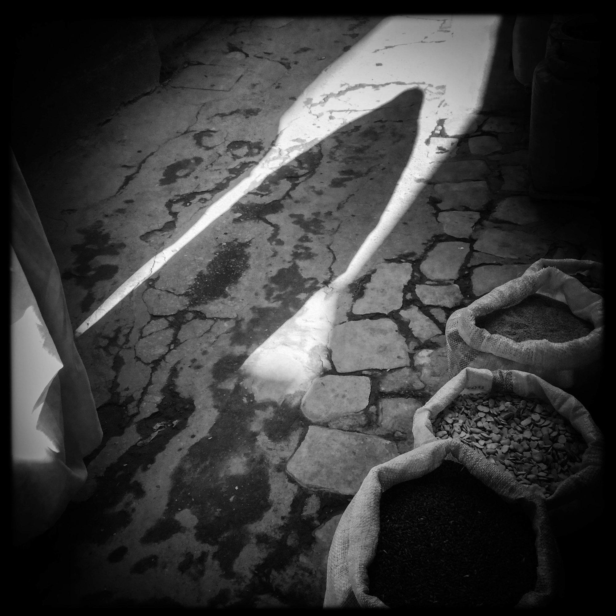 Dans une ruelle de la casbah. 8/02/2016, Ghardaïa-Algérie.