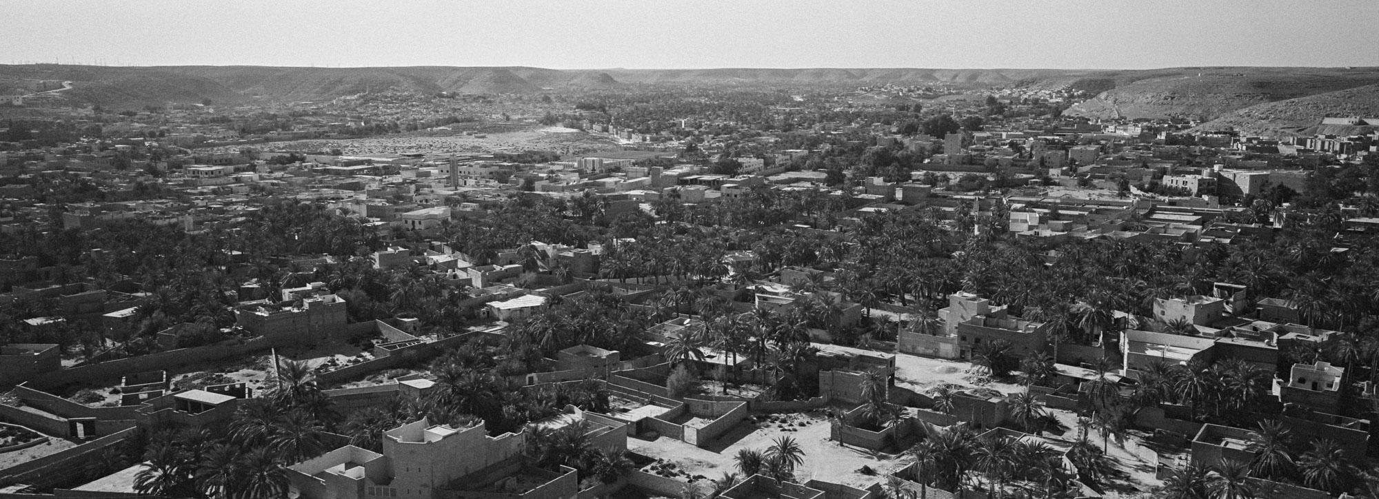 Vue sur la grande palmeraie de Ghardaia. 2/02/2016, Ghardaïa-Algérie.