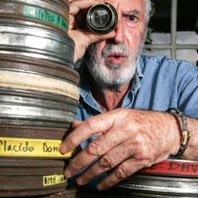 Adolphe Dray, réalisateur de films pour la télévision pendant plus de vingt ans.24/09/07VallesvilleFrédéric Scheiber/Commande pour le magazine Mise en Scène