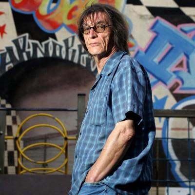 Claude Sicre, Auteur Compositeur et Président de l'association Escambiar.14/09/09ToulouseFrédéric Scheiber/Commande pour l'Express.
