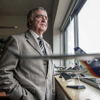 François Junca, directeur de Latécoère.22/10/08ToulouseCommande pour l'hebdomadaire La Gazette du Midi