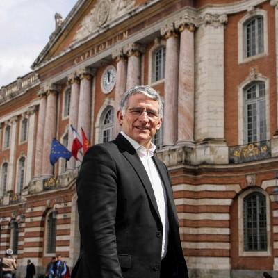 Pierre Cohen, Député-maire socialiste de Toulouse.29/04/09ToulouseFrédéric Scheiber/Commande pour l'Express.