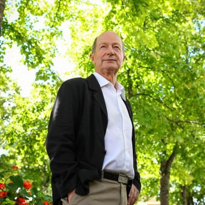 Bernard Keller, maire de Blagnac. 27/08/2014, Blagnac-France./Commande pour l'Express.
