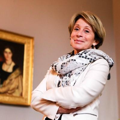 Brigitte Bareges, maire UMP (devenu Les républicains) de Montauban. Montauban-FRANCE, 19/05/2015/Commande pour l'Express.