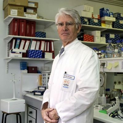 Professeur Georges Delsol, coordonateur du Cancéropole GSO.6/11/06ToulouseCommande pour l'hebdomadaire La Gazette du Midi