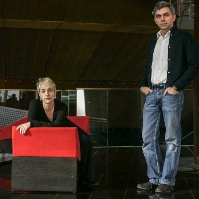 Agathe Mélinard et Laurent Pelly, directeurs du Théatre National de Toulouse, TNT.21/01/08ToulouseCommande pour l'hebdomadaire La Gazette du Midi