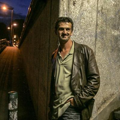 Pascal Dessaint, écrivain de romans policiers.22/08/07ToulouseCommande pour l'hebdomadaire La Gazette du Midi