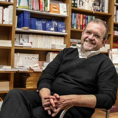 Christian Thorel, directeur d'Ombres Blanches.13/11/06ToulouseCommande pour l'hebdomadaire La Gazette du Midi